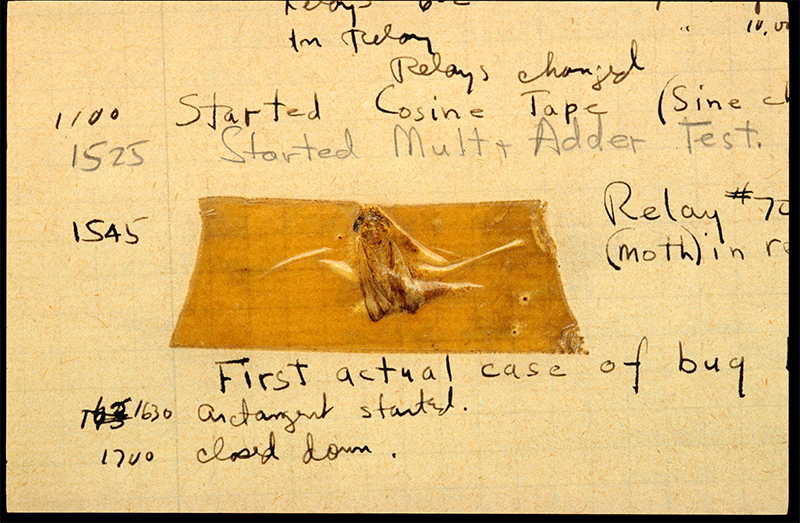 The Origin of the World's First Computer Bug